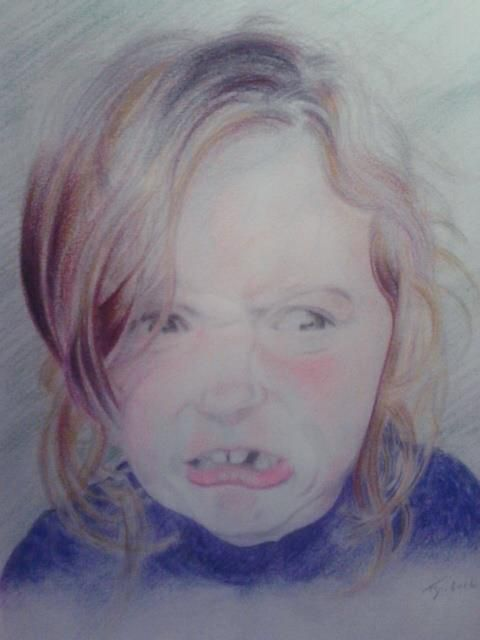 Anthony Gordon funny niece portrait