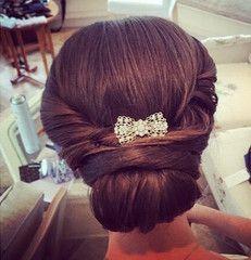 Simone Bow Style Hair Clip