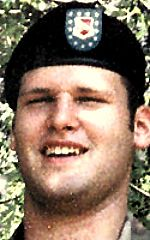Army SPC Don A. Clary, 21, of Troy, Kansas. Died November 8, 2004, serving during Operation Iraqi Freedom. Assigned to 2nd Battalion, 130th Field Artillery, Kansas Army National Guard, Horton, Kansas. Died of injuries sustained when a vehicle-borne improvised explosive device detonated near his vehicle during combat convoy operations in Baghdad, Iraq.