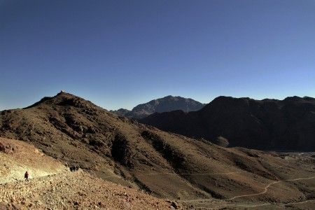 Thanks for the Vote, Sinai Mountain - by Ag Adibudojo. In GAWPC Photo Contest