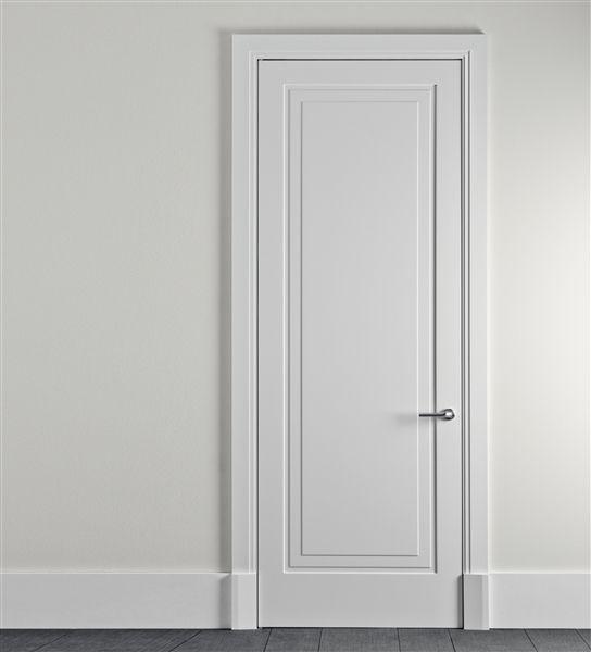 single panel door : robert a m stern for lualdi