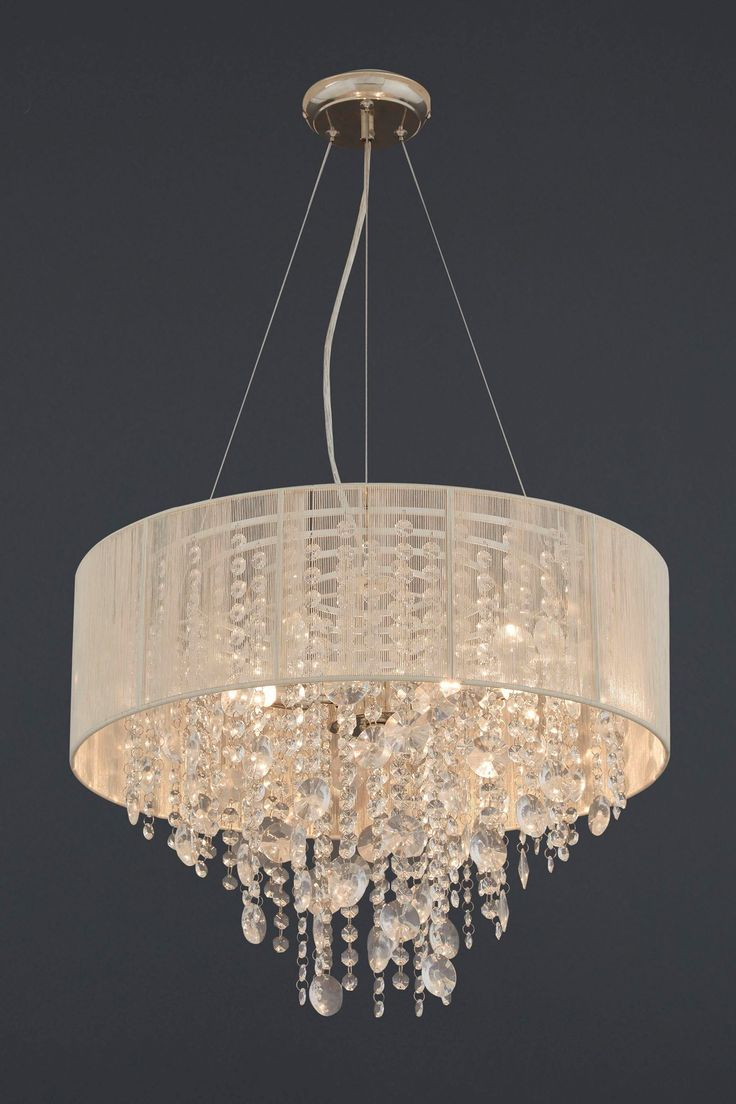 Palazzo 3 Light Glass And String Chandelier From The Next Uk Online