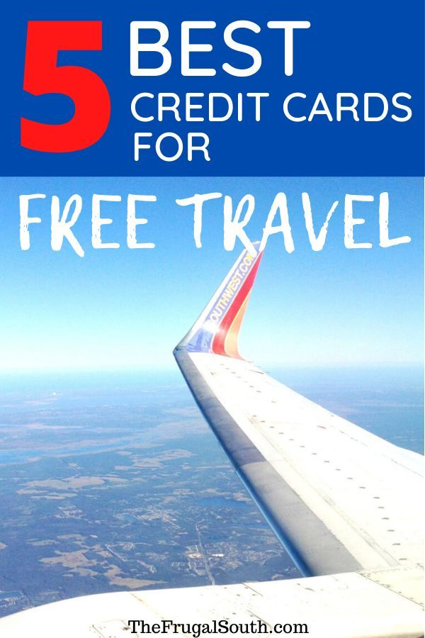 5 Best Credit Cards For Free Travel With Points Miles In 2020