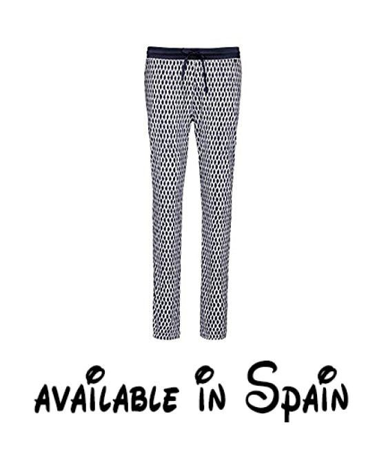 0e6a98e5aa B01LZBRKYT   Cyell Afina Pantalones de Pijama para Mujer Mehrfarbig  (Painted Night Shadow 655)