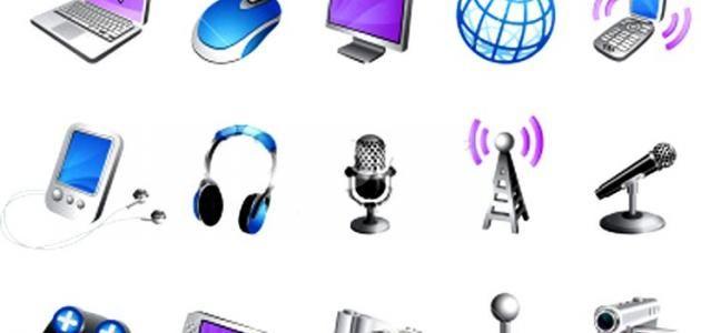 أنواع وسائل الاتصال Earbuds Electronic Products Headphones