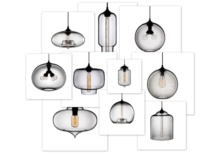 7 best pendant lights images on pinterest hanging lamps hanging blown glass pendant lights collage by niche modern mozeypictures Gallery