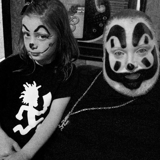 Violent J with Daughter KittyKat Ruby BackStage In Toledo ...