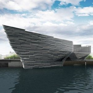 Green light for Kengo Kuma's  redesigned V at Dundee