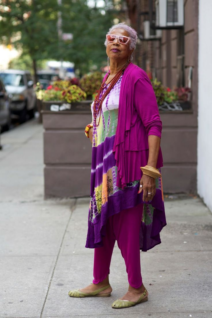 ADVANCED STYLE: I Shall Wear Purple