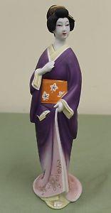 Vintage Large Seyei Geisha Woman Decanter Koshu Asian Liquor Sake Bottle 13  | eBay