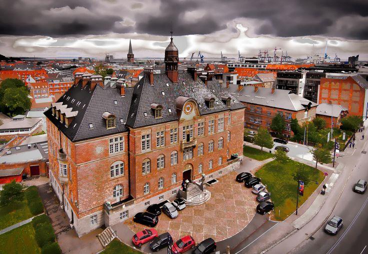 Photo City view in Aarhus par Lee Wilkerson on 500px