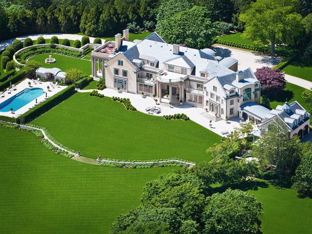 "Luxury Homes and Real Estate The Hamptons Waterfront Mansion ""Villa Maria"" for Sale $49.5 Million"