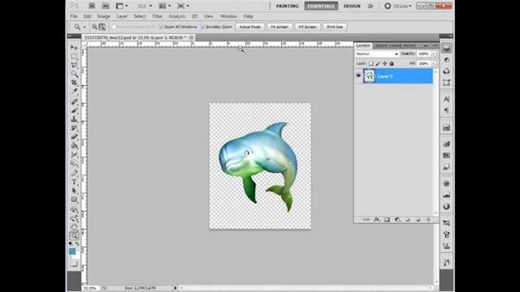 PE-Design. PhotoStitch - Дельфин 2.
