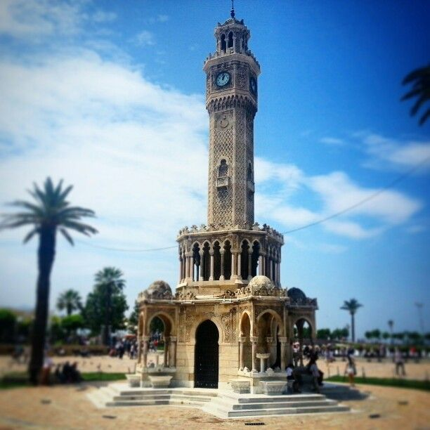 Saat kulesi / Izmir.