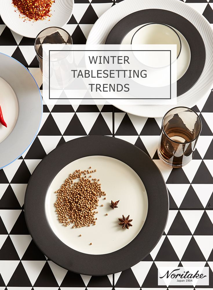 Stay warm this season with warm home cooked meals served on warm neutral colour crockery. Create a stylish winter tabletop story with Noritake xx