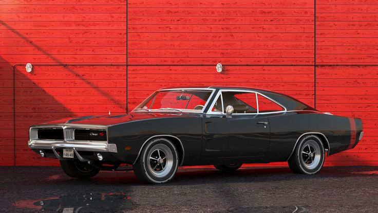 '69 Dodge Charger RT on Behance