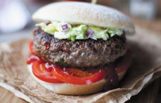 Feurig-scharfe Irish Beef Cheeseburger