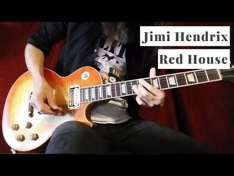Jimi Hendrix - Red House (Guitar Solo Cover/Improvisation) - YouTube