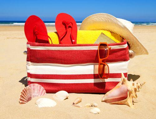 Inspiracje modowe na plażę - 5 must have, 5 rzeczy na plażę,