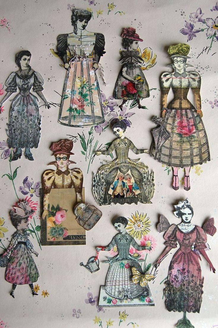 5854 best images about Vintage Paper Dolls on Pinterest ...