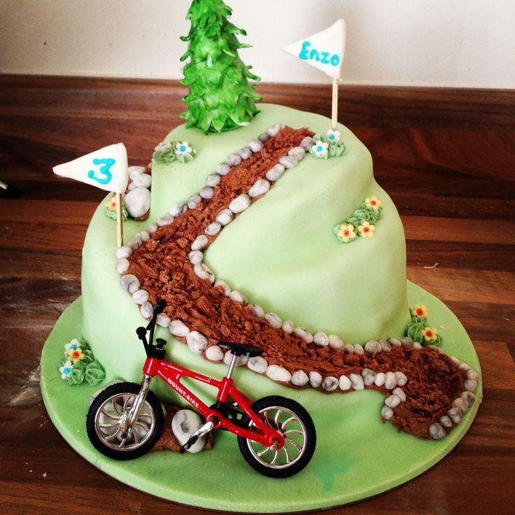 Mountain bike cake Bike & Cakes Pinterest Bike cakes ...