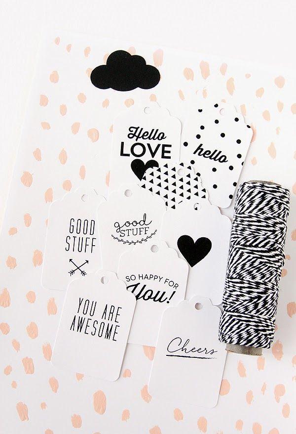 #Pinterest #papergoods #paper #label #blackandwhite #graphic #design #LivvLifestyle
