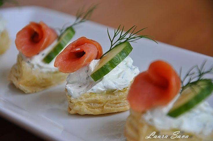 Luntrite cu somon   Retete culinare cu Laura Sava