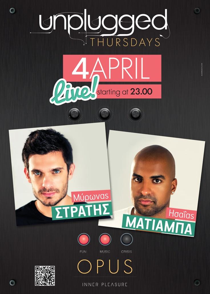 Myronas Stratis & Isaias Matiamba Live @ Opus