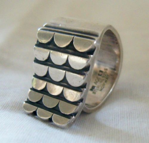 Anna Greta Eker for Norway Designs PLUS Workshop Sterling Silver Ring #EB152