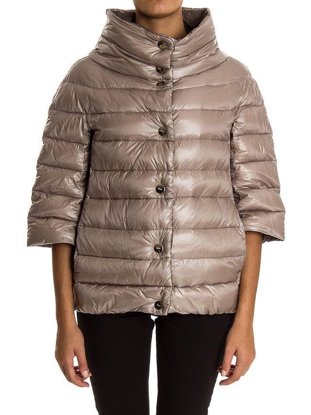 Herno-piumino corto maniche trequarti-three quarter sleeves down jacket-Herno shop online