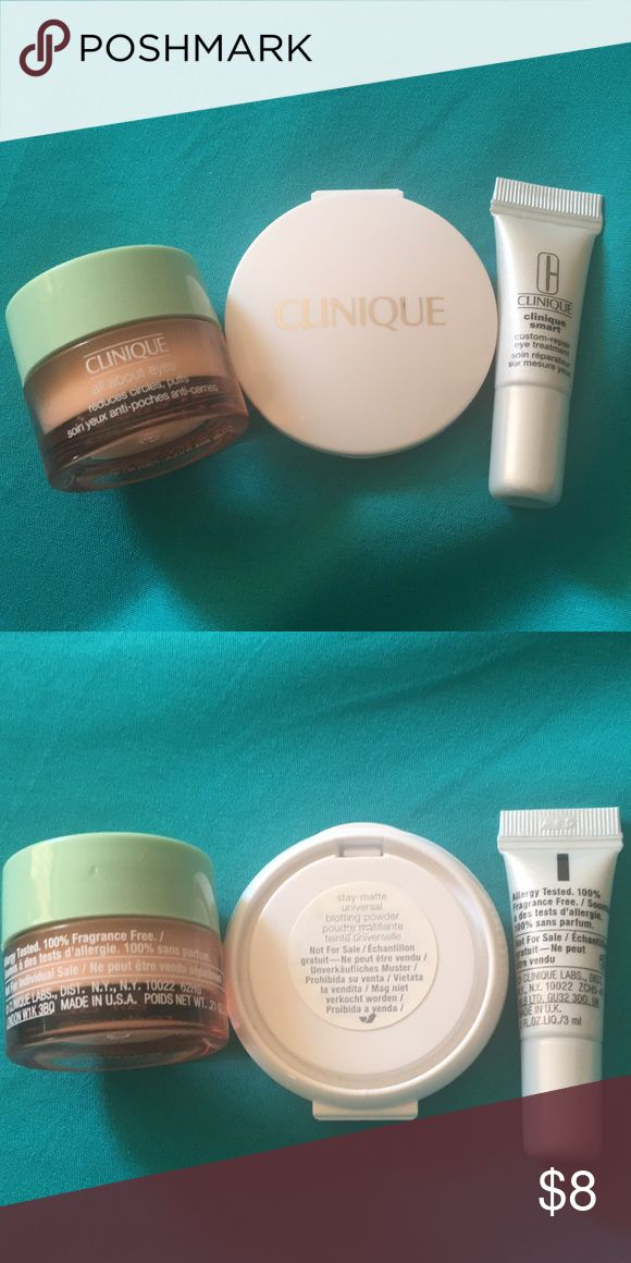 Clinique samples. All new, haven't been used. Clinique Other