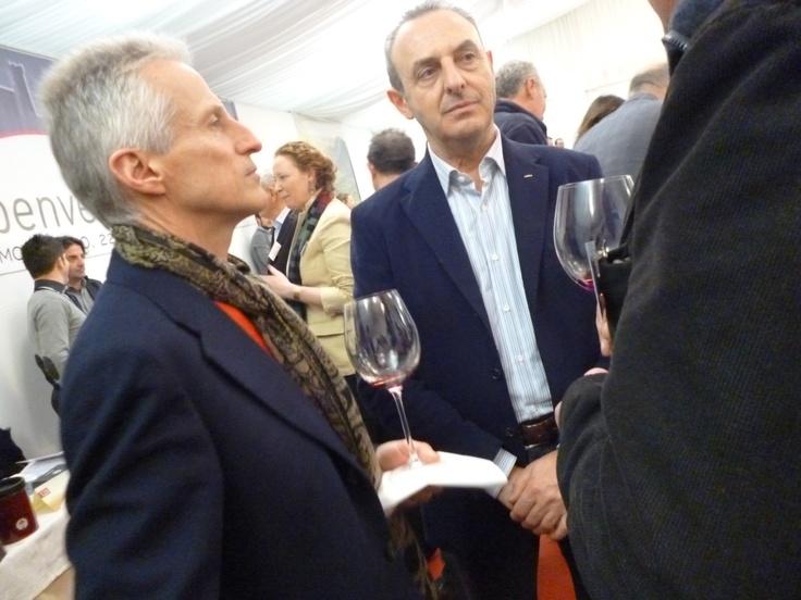 Riccardo Illy e Andrea Machetti