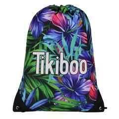 Tikiboo Tropical Flowers Drawstring Bag £14.99 #Activewear #Gymwear #FitnessLeggings #Leggings #Tikiboo #Running #Yoga  #GymBag