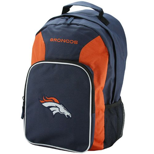 Denver Broncos Southpaw Backpack - Navy Blue