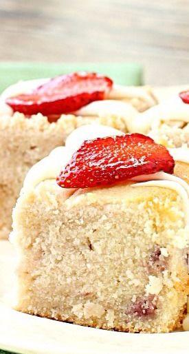Fresh Strawberry Yogurt Cake » Call Me PMc
