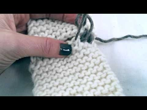 Mattress Stitch - YouTube Costura en punto bobo