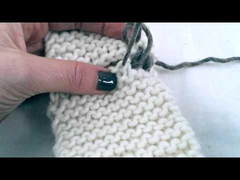 Mattress Stitch - YouTube Costura en punto bobo