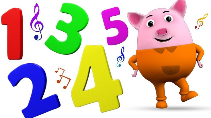 Numbers Song Rhymes for Kids Children Toddlers | Learning Numbers with B...