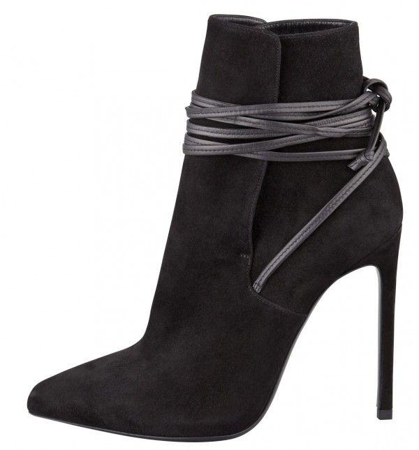 Minimal + Classic: Saint Laurent Love this black stiletto bootie