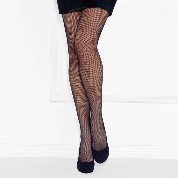 LE BOURGET Collant RésilleCouture en résille pour être sexy et moderne..
