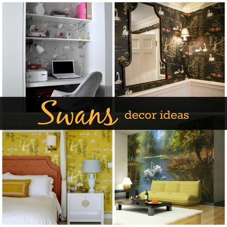 #swans #decorideas #homedecor #roomdecor