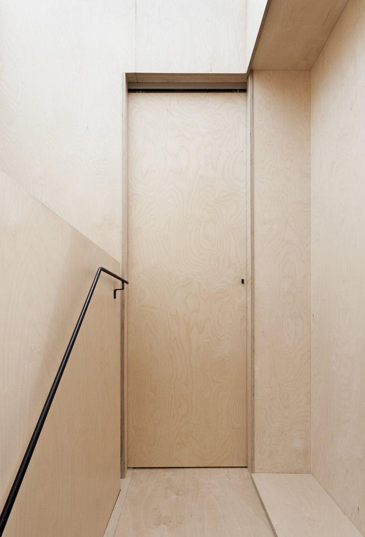 Plywood House by Simon Astridge. #minimal