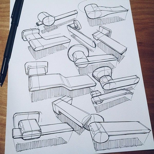 Sketches we like / Pencil Sketch / paper / Analog / Pen + Paper on Behance