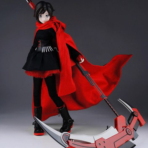 RWBY Ruby Figure by Threezero - PRE-SALE RESERVATION *might want to make a Ruby costume*