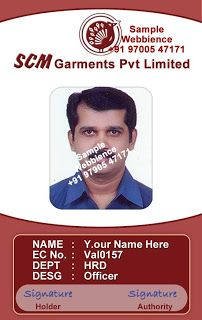 17 Best images about Employee ID Card Template on Pinterest ...