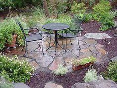 Slate Walkway Ideas   DRG fLagstone, slate, stone and brick walkway paths landscaping