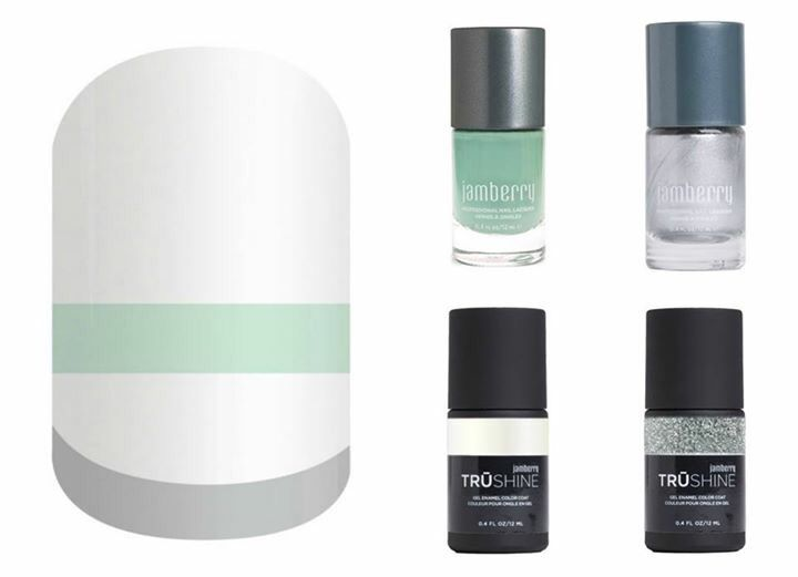 Jamberry Pairings | SoNailicious x Jamberry Mod French Twist
