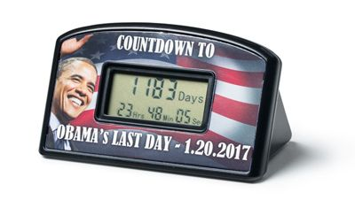 Share PatriotDepot with your friends and family and you'll get a coupon for $5 off your order of $50 or more! Obama's Last Day Countdown Clock #patriotdepot