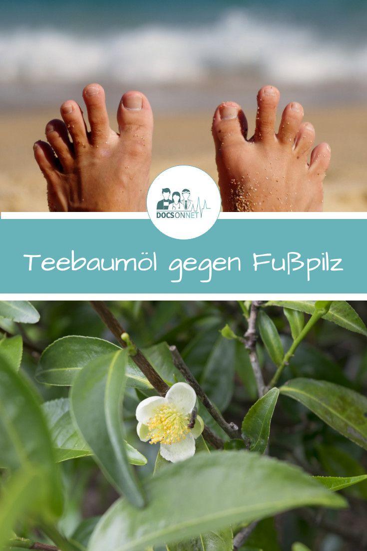 So hilft Teebaumöl gegen Fußpilz