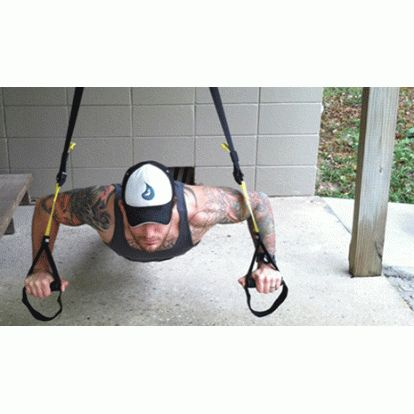 TRX Home Suspension Kit- If you're looking for a new TRX workout, give this fun and effective 25-minute full body routine a try.
